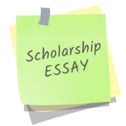 Essay writing for scholarship application